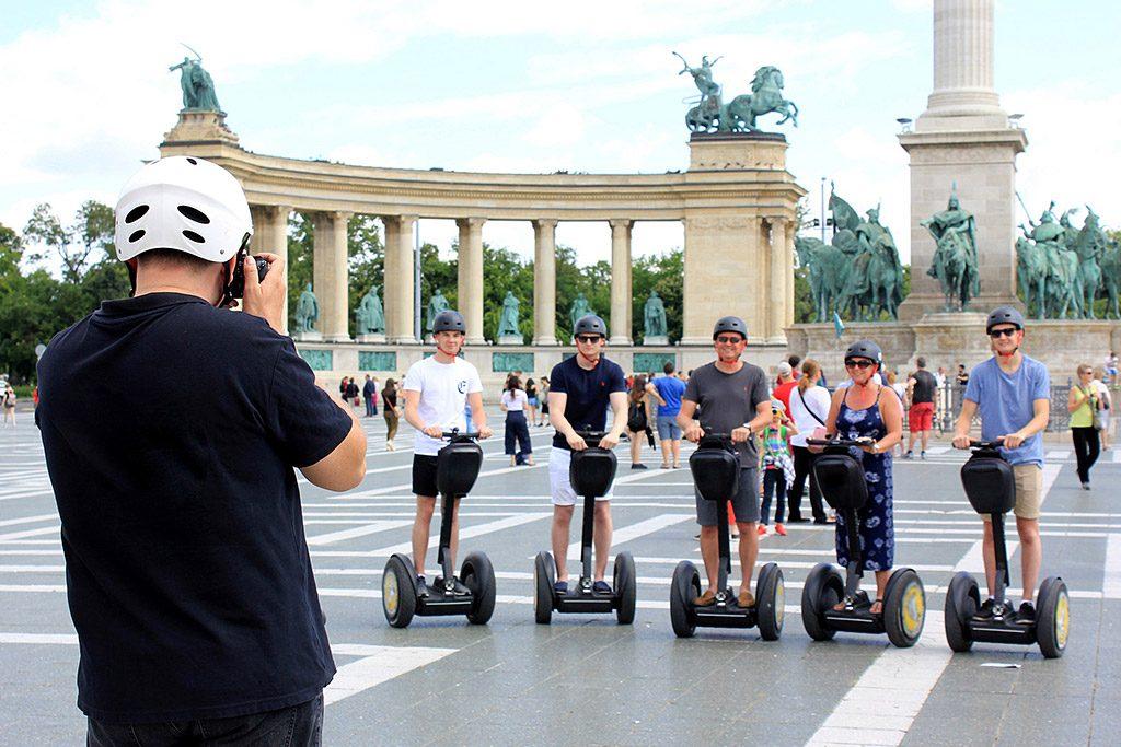 Budapest City Park Segway Tour